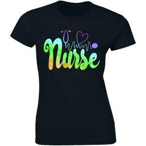 Heartbeat Stethoscope Nurse Doctor Medical T-shirt